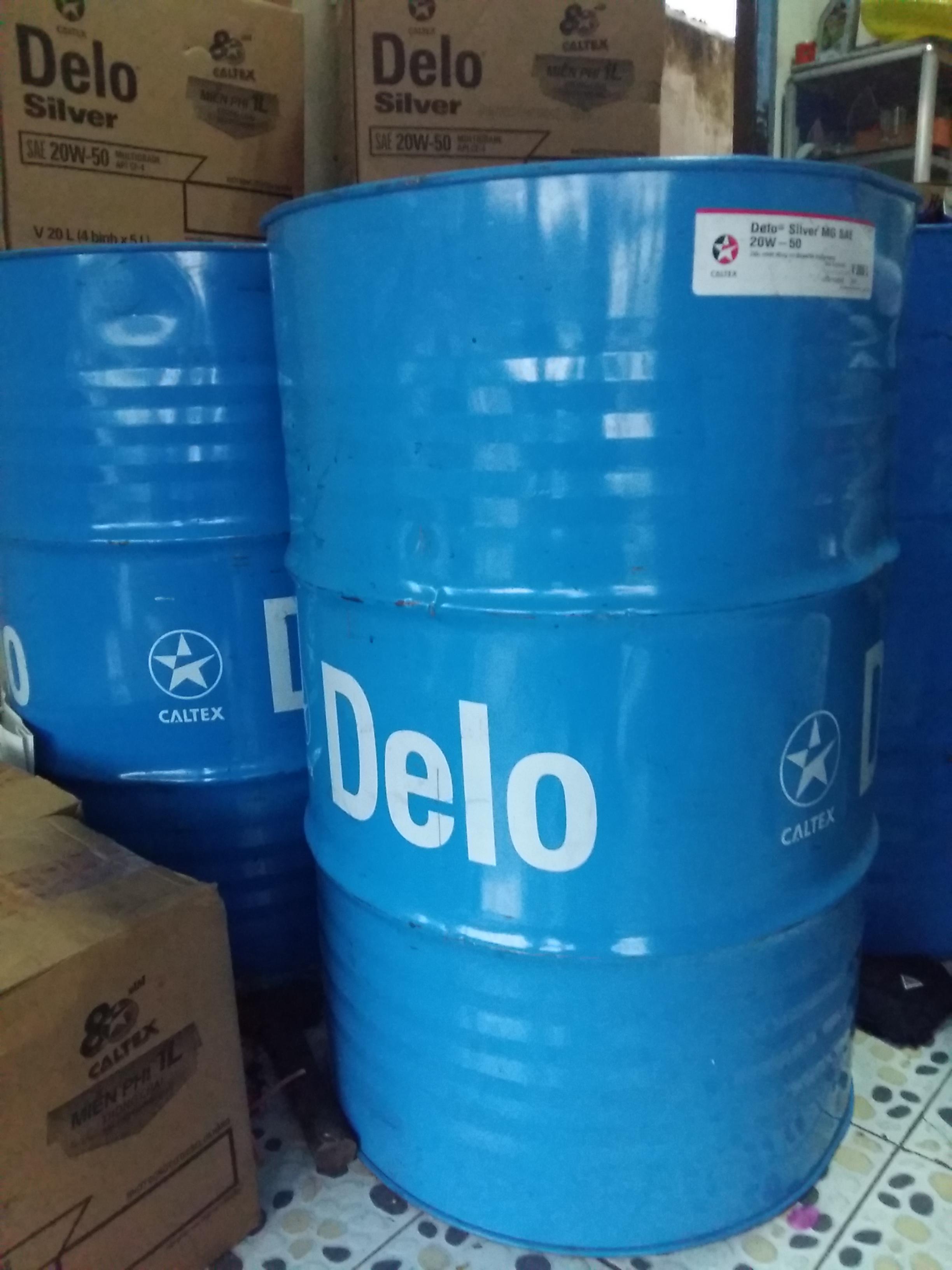 dầu nhớt động cơ chất lượng caltex-Delo Silver Multigrade 15W40 và